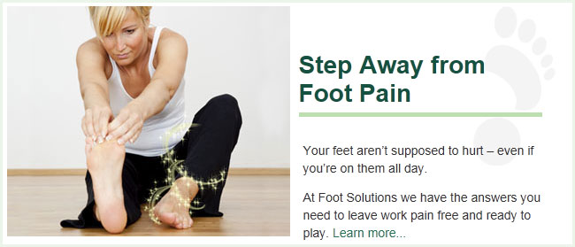 Step Away from Foot Pain